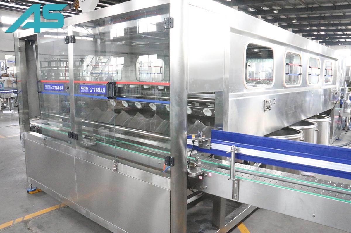 600-1200BPH桶装水灌装机